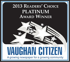 Readers Choice 2013 Platinum Award
